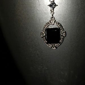 Jewelry - Black Spinel Sterling silver